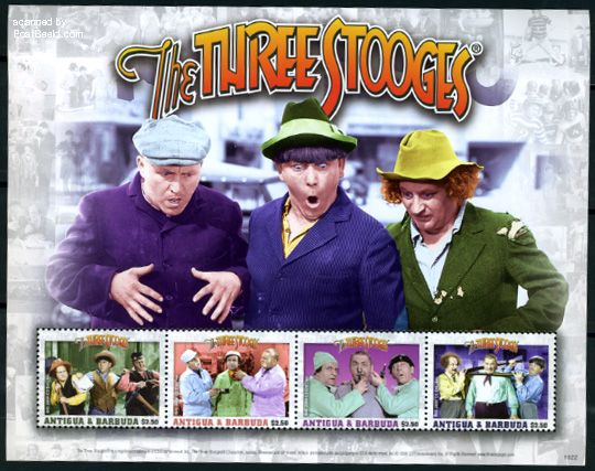 The Three Stooges 4v m/s