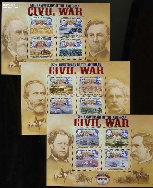 Civil War 3 s/s