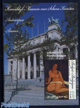 Art museum, Modigliani painting s/s