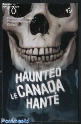 Haunted Canada booklet