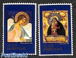 Christmas, icons 2v