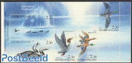 Water birds 5v in booklet