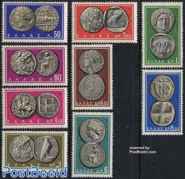 Definitives, coins 9v