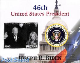 Joe Biden 46th US president s/s