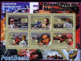 Grand Prix Melbourne 6v m/s