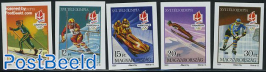 Olympic Winter Games 5v imperforated