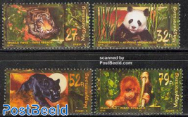 Asian animals 4v