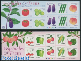 Fruits 2 foil sheets