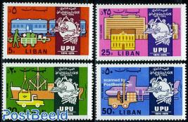 UPU Centenary 4v