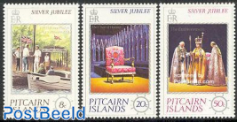 Silver jubilee 3v