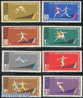 European athletic games 8v