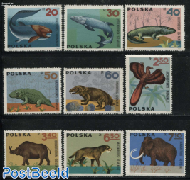 Prehistoric animals 9v