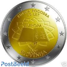 2 Euro, Slovenia, Treaty of Rome