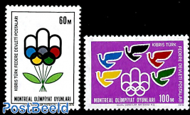 Olympic games Montreal 2v