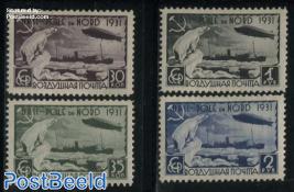 Polar flight 4v