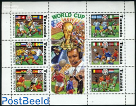 World Cup Football 6v m/s