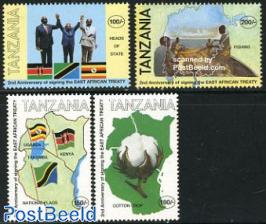 East Africa treaty 4v