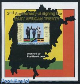 East Africa treaty s/s