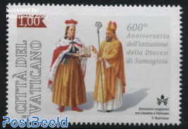 Samogitia Diocese 1v, Joint Issue Lithuania