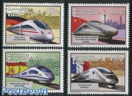 High speed trains 4v
