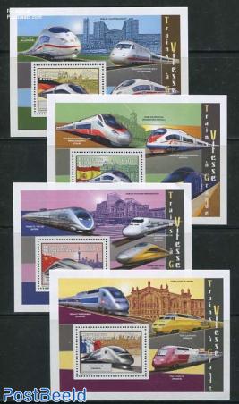High speed trains 4 s/s