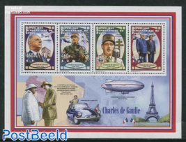 Charles de Gaulle 4v m/s