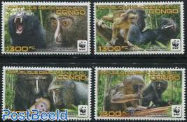 WWF, Monkeys 4v