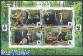 WWF, Monkeys 4v m/s