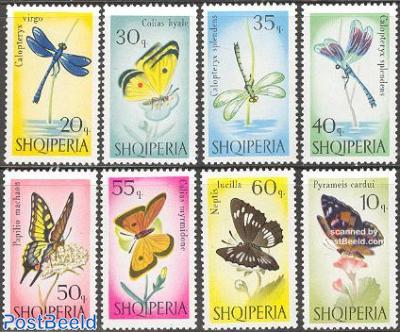 Butterflies & Dragonflies 8v
