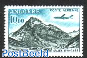 Airmail 10Fr 1v