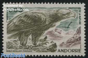 Nature conservation, eagle 1v