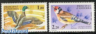 Nature protection, birds 2v