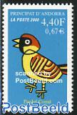 Stylistic bird 1v