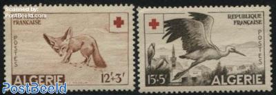 Red Cross, animals 2v