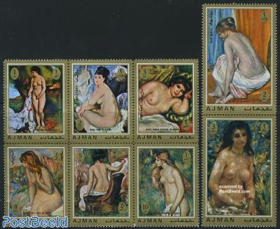 Renoir paintings 8v [++],[:]