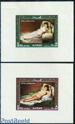 Goya paintings 2 s/s