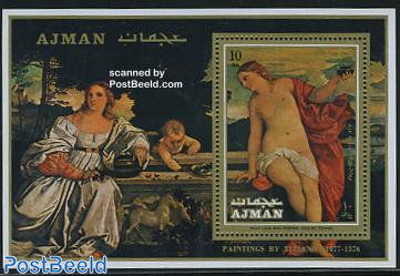 Titian paintings s/s