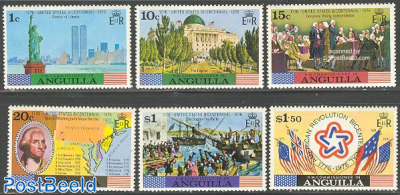 US Bicentennial 6v