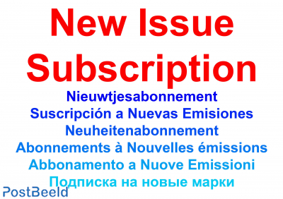 New issue subscription Andorra, French Post