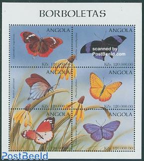 Butterflies 6v m/s, Dynastes Napoleon