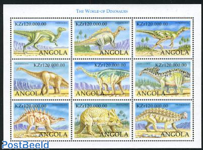Preh. animals 9v m/s, Hadrosaurus