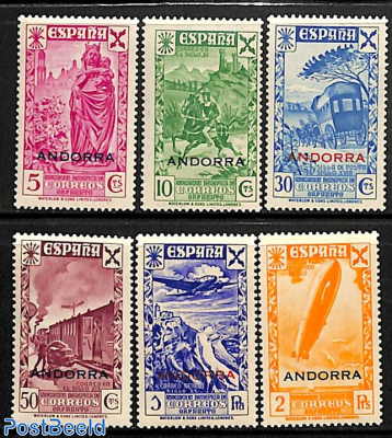 Welfare stamps 6v