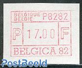 Automat stamp Belgica 1v