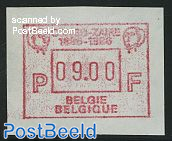 Automat stamp, Congo-Zaire expo 1v