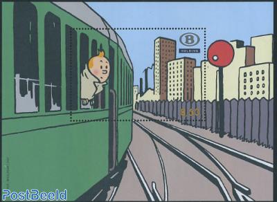 Railway stamps, Tin-Tin s/s