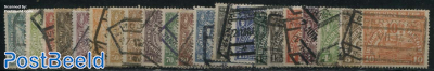 Railway stamps (London issue) 21v