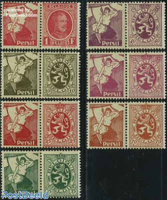 Definitives with tab, Persil 7v