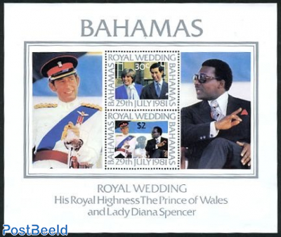 Charles & Diana wedding s/s