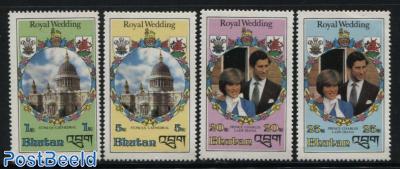 Charles & Diana wedding 4v