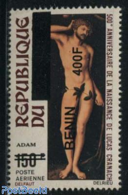400f on 150f, Lucas Cranach 1v